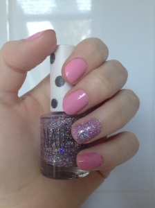 Topshop glitter for nails