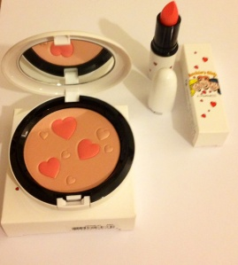 Archie's Girls Pearlmatte Powder and Betty Bright Lipstick