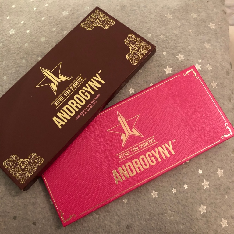 Jeffree Star Androgyny eyeshadow palette